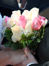 Mixed Roses Wedding Bouquet