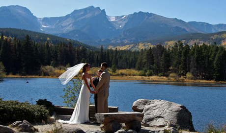 Marriage in Estes Park Colorado